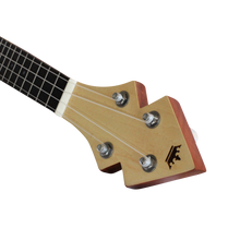 Load image into Gallery viewer, The DUKE10 Tenor Banjo Ukulele Headstock stands out