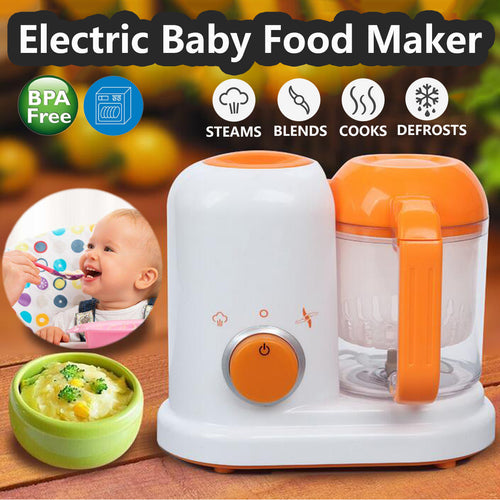 Multi-function Baby Food Processor Milk Warm Baby Food Cooking Blenders All In One - Exceptional Gear