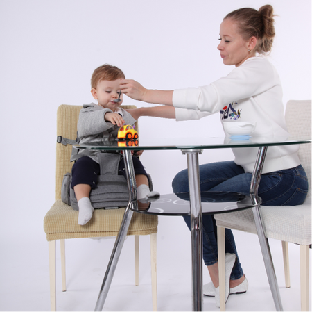 Modern Diaper Bag That Converts Into Portable Baby High Chair - Exceptional Gear