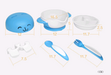 Bunny Bowl 6 Piece Set With Fork and Spoon - Exceptional_Gear