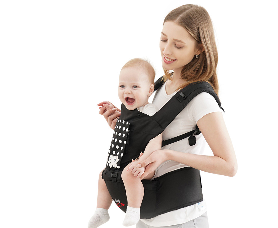 New Disney All Season Ergonomic Baby Carrier With Detachable Stool - Exceptional_Gear