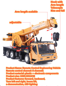 Power Loader The Remote Control Truck Crane Toy - Exceptional_Gear