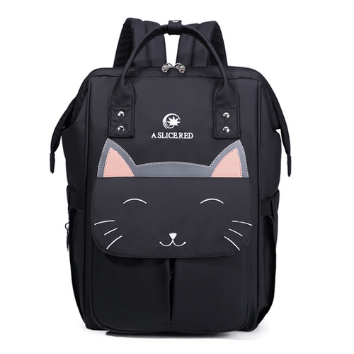 Happy Meow Large Capacity Diaper Bag - Exceptional Gear
