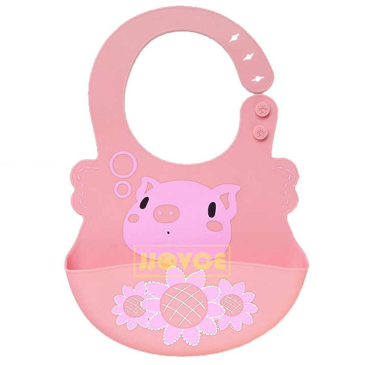 Cute Silicone Soft Adjustable Bib - Exceptional_Gear