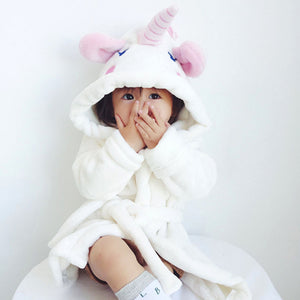 Unirobe The Cutest Unicorn Bathrobe For Kids - Exceptional_Gear
