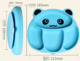 Cute Panda Suctioned Silicone Plate - Exceptional_Gear