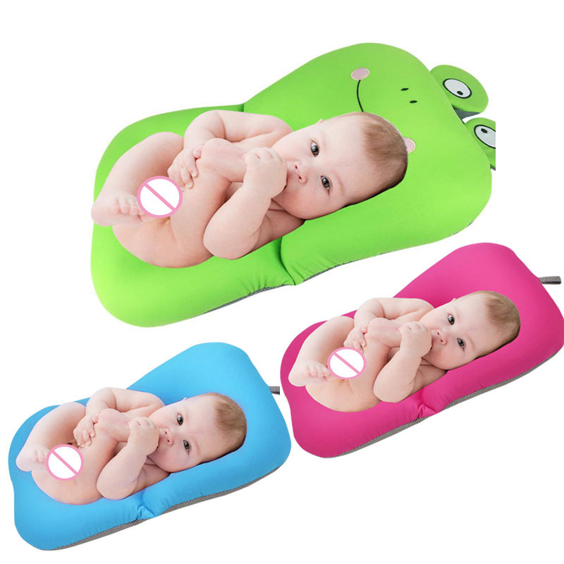 Foldable Soft Baby Bath Pillow Cushion - Exceptional_Gear