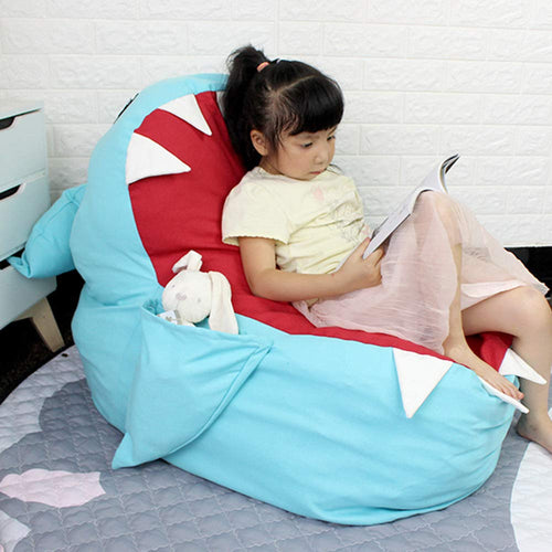 Shark do do children's plush toy eater storage bean bag / lazy sofa - Exceptional Gear