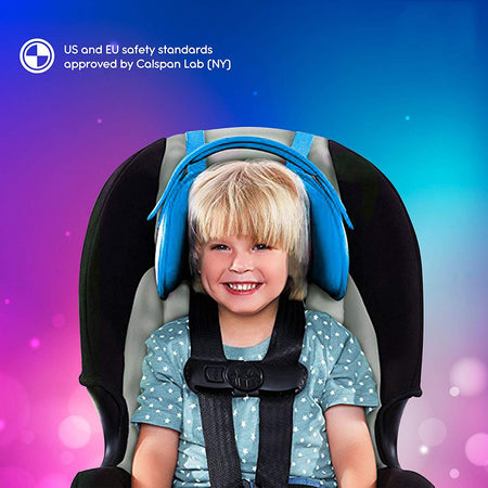 Fastened™ The Comfortable Child Head Support - Exceptional Gear