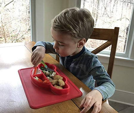 Carpool The Silicone Baby & Toddler Plate - Exceptional Gear