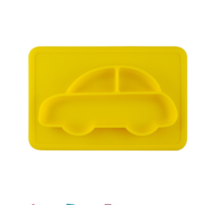 Carpool The Silicone Baby & Toddler Plate - Exceptional_Gear