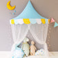 Children's Half Moon Tent Cotton Princess Bed - Exceptional Gear