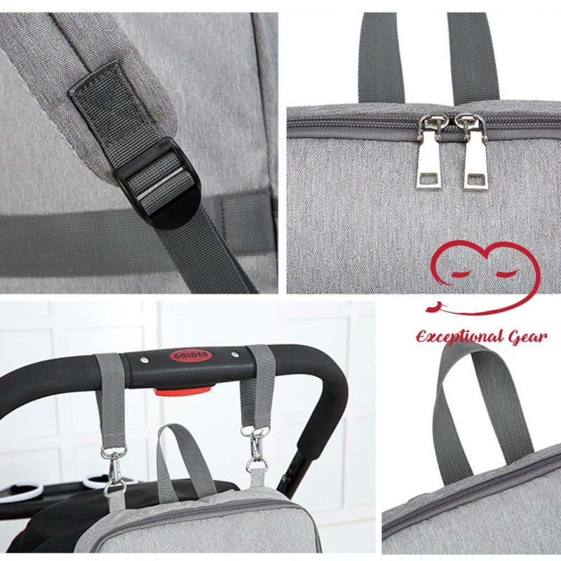 Cuddie The Chair Strap Diaper Bag Transformer - Exceptional_Gear