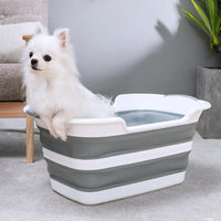 Multipurpose Foldable Compact Baby Pet Bath Tub Bucket Non-Slip - Exceptional Gear