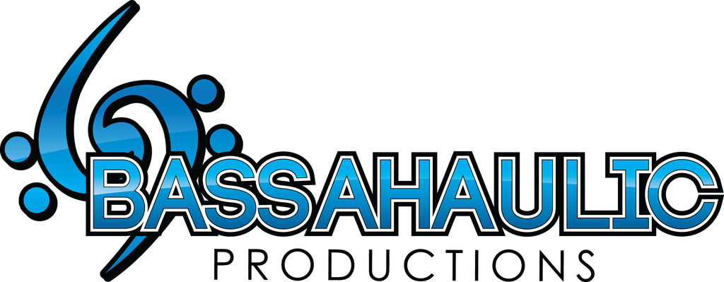 "12"" Full Color Logo - Bassahaulic Productions Sticker"