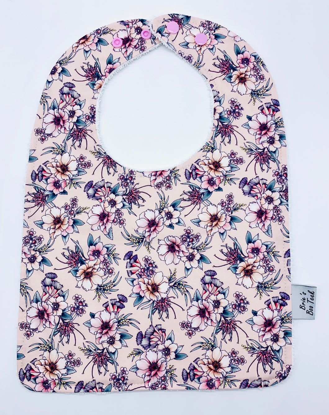 Camellia Large Feeding/Dribble Bib