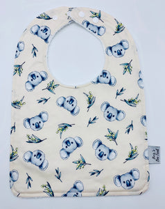 Koala and Wattle Large Feeding/Dribble Bib
