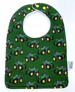 Tractors Large Feeding/Dribble Bib