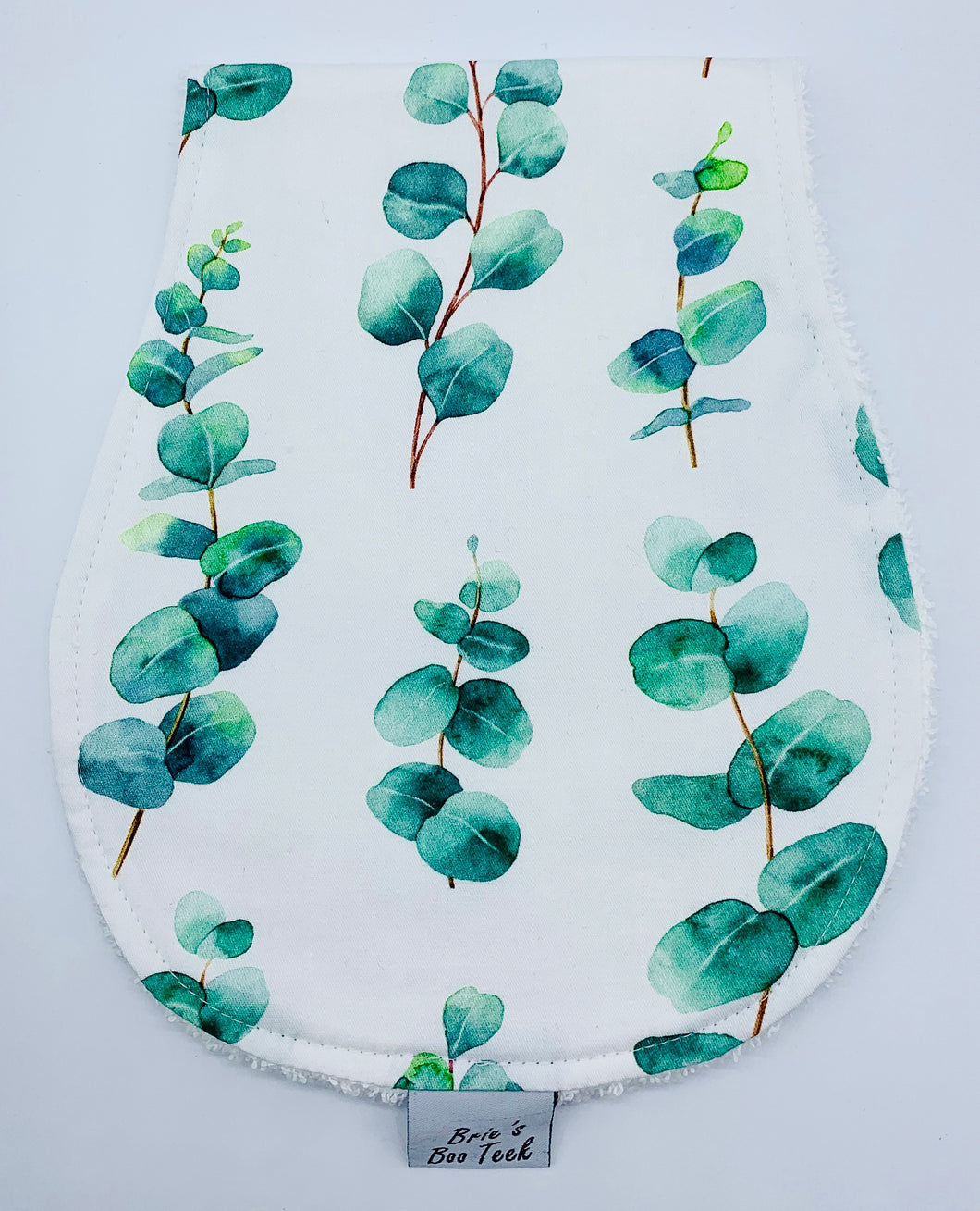Eucalyptus Leaf Burp Cloth