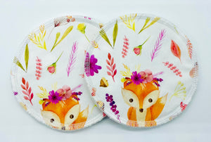 Pink Fox - Reusable Breastfeeding/Nursing Pads