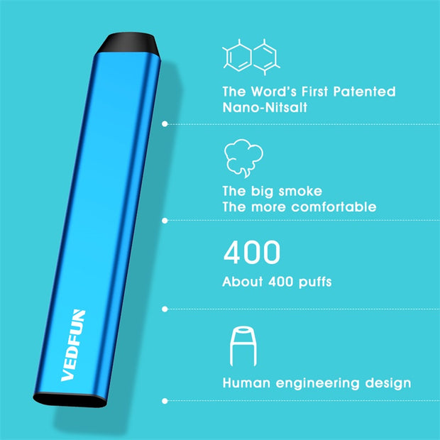 vedfun feel disposable vape kit e cigarette