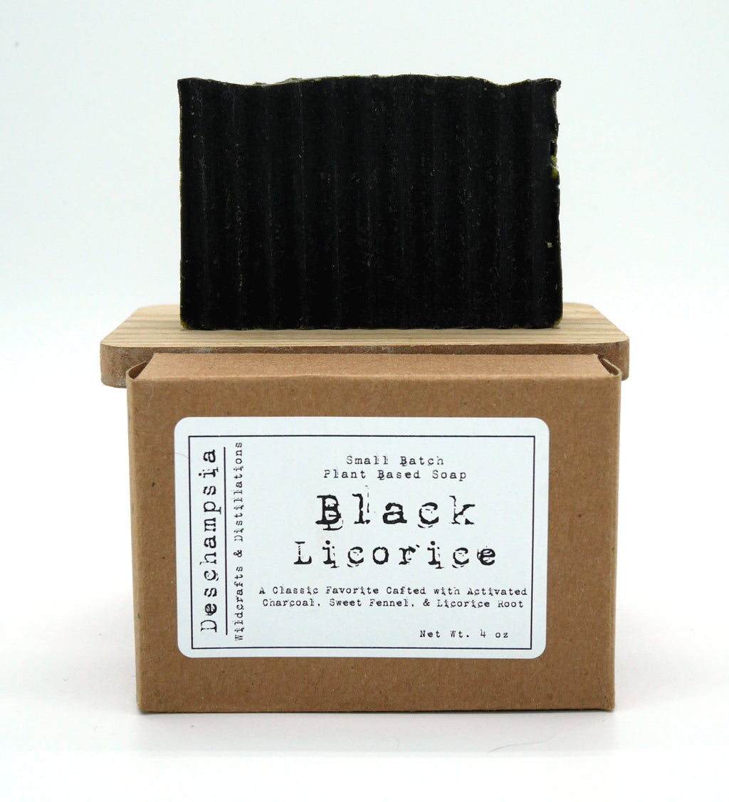 Black Licorice Soap - Deschampsia