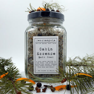 Cabin Essence Bath Soak - Deschampsia - Nature Based Self Care