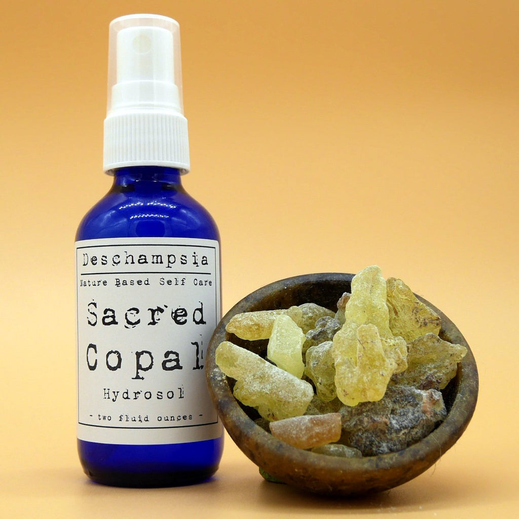 Sacred Copal Hydrosol - Deschampsia - Nature Based Self Care