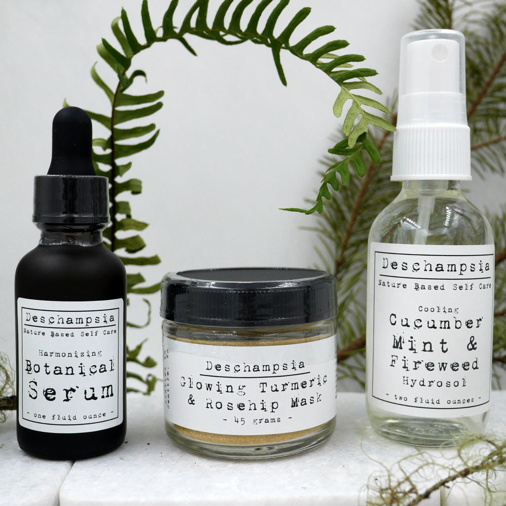 Botanical Skincare Kit - Deschampsia - Nature Based Self Care