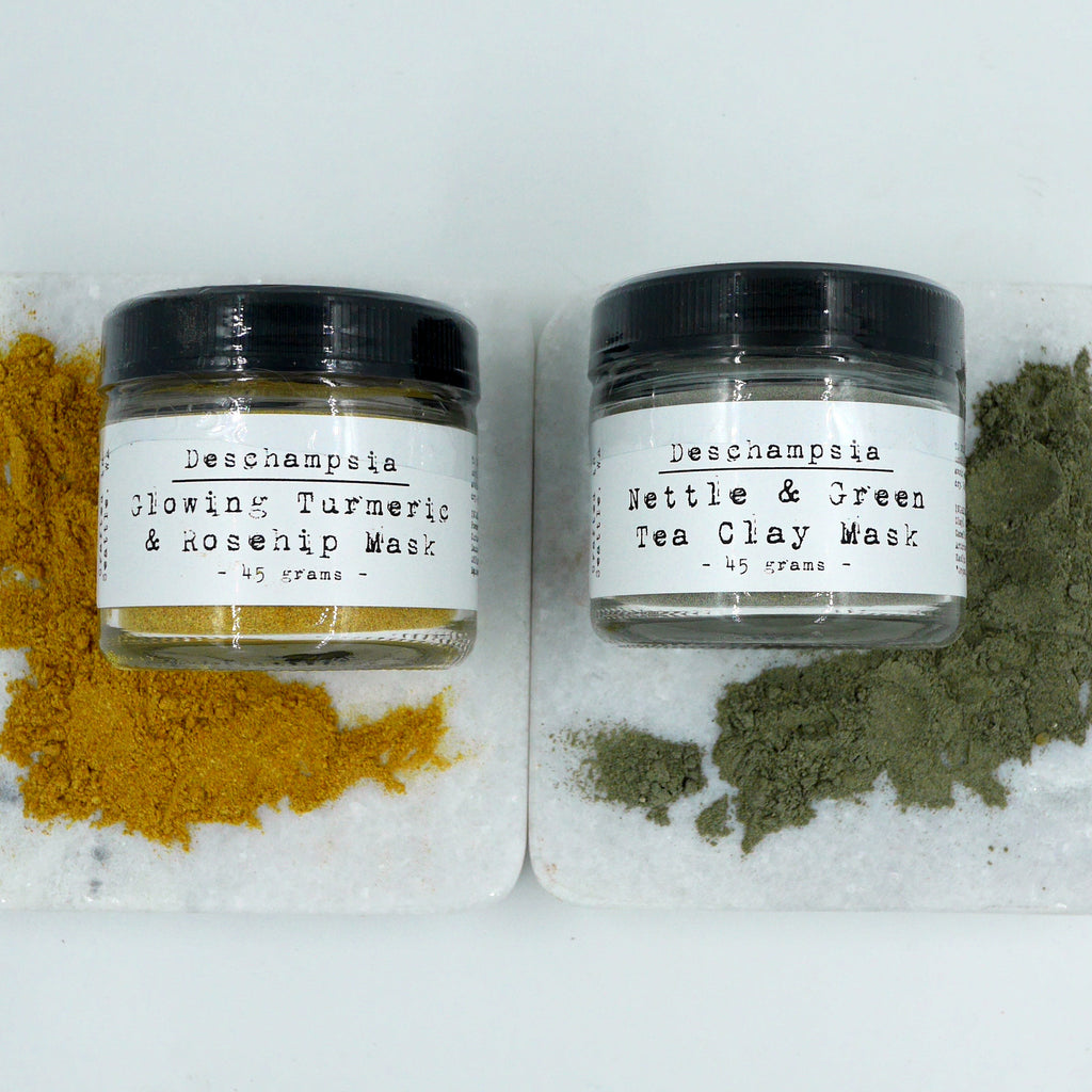Botanical Face Mask Kit - Deschampsia - Nature Based Self Care