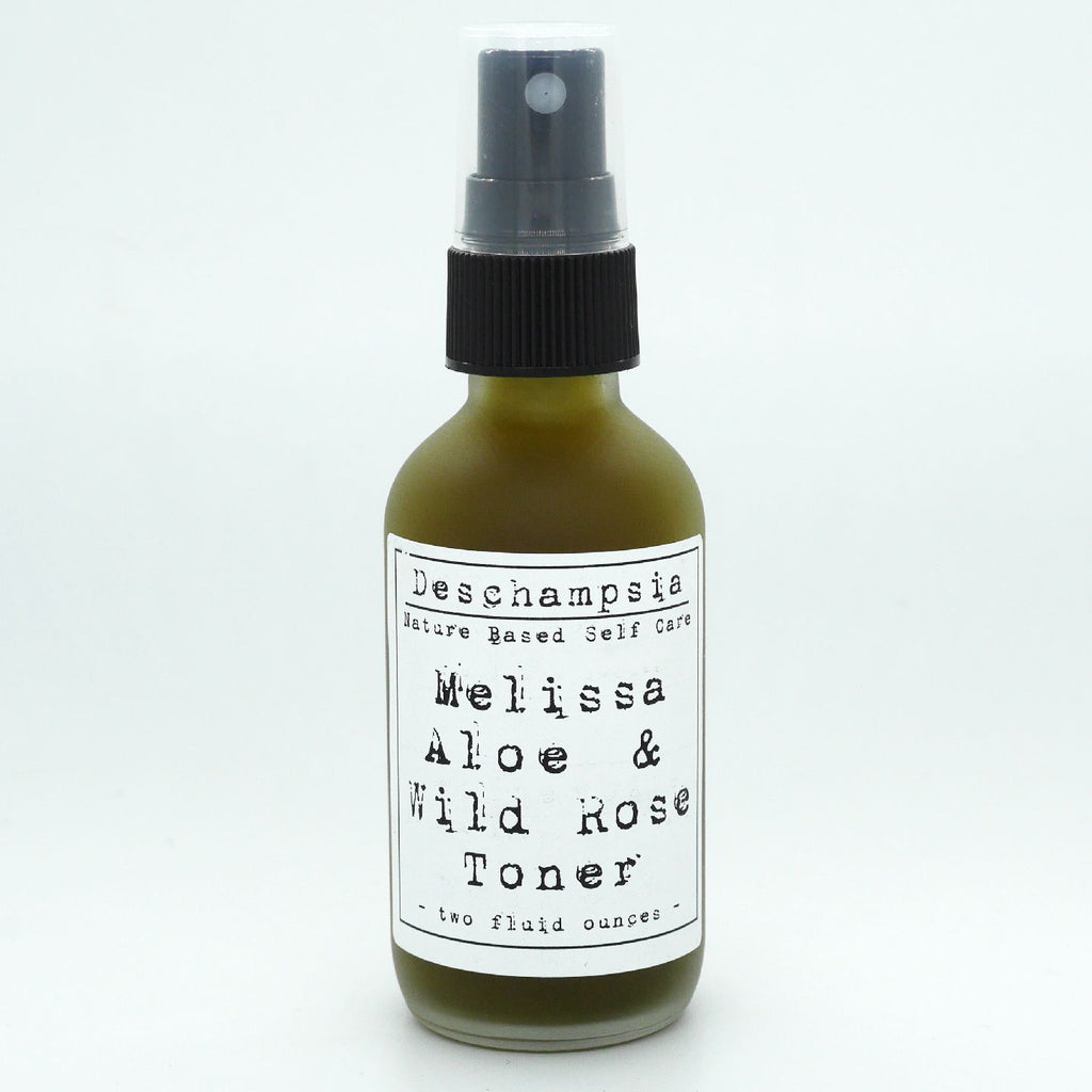 Melissa Aloe & Wild Rose Facial Toner - Deschampsia - Nature Based Self Care