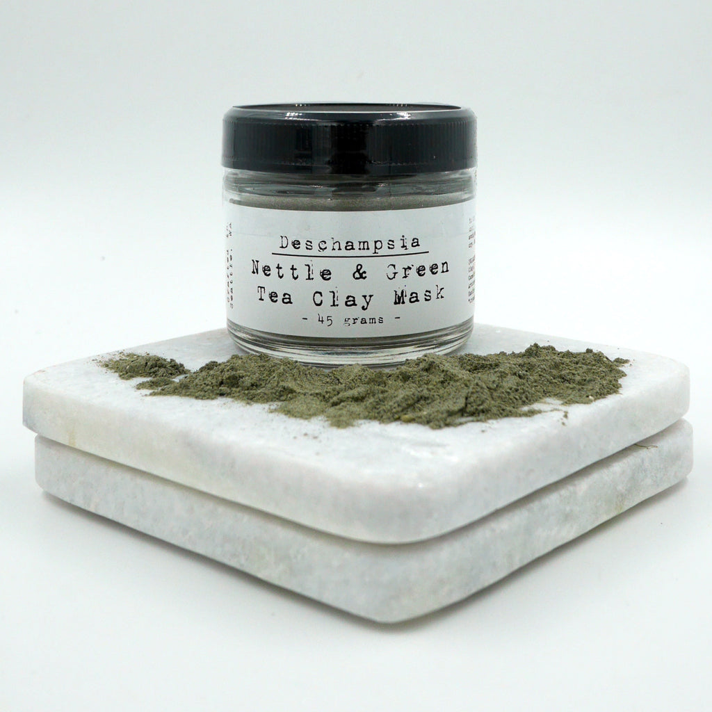 Nettle & Green Tea Clay Mask - Deschampsia - Nature Based Self Care