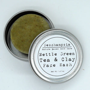 Nettle Green Tea & Clay Cleanser + Wash - Deschampsia