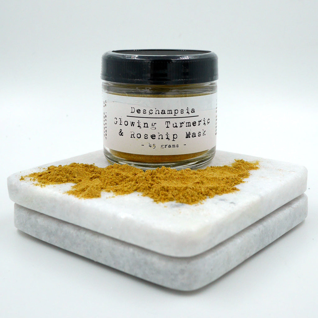 Glowing Turmeric & Rosehip Mask - Deschampsia - Nature Based Self Care