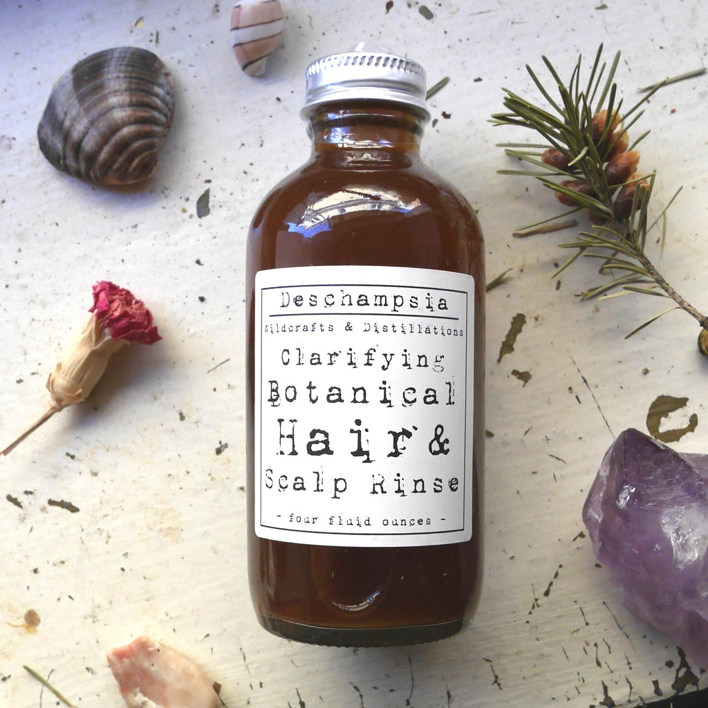 Clarifying Botanical Hair & Scalp Tonic - Deschampsia