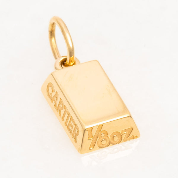 SOLD Cartier 1/8oz Bullion, 18K Yellow Gold, Vintage