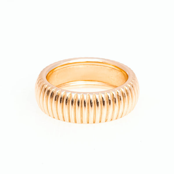 Barre Ring 18K Yellow Gold, Medium