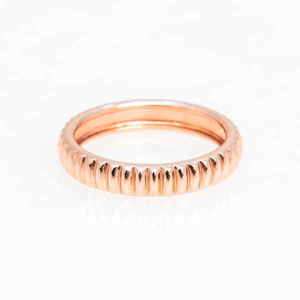 Barre Ring 18K Rose Gold, Small