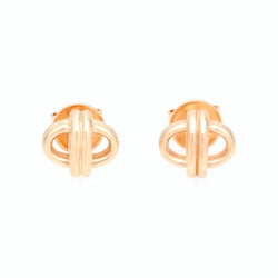 Oval Link Studs, 18K Yellow Gold, Small