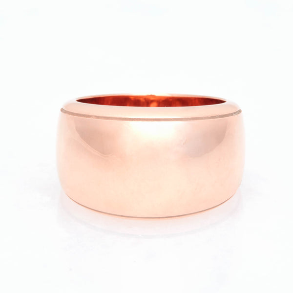 Cigar Ring 18K Rose Gold