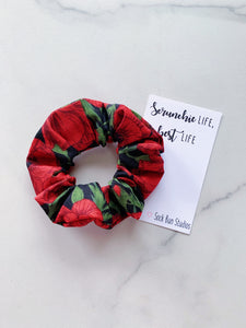 SALE Poppies Scrunchie