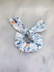 Watercolor Rose Scrunchie Ties