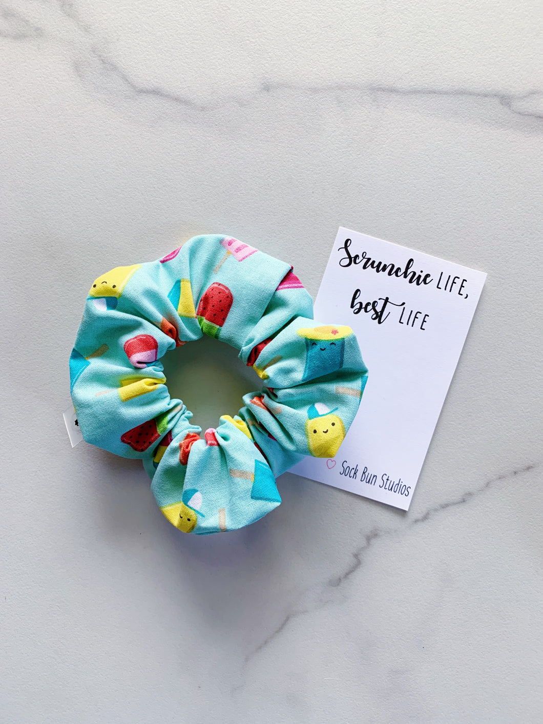 Popsicle Party Scrunchie