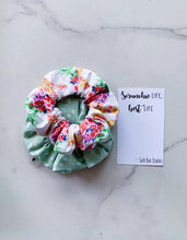 Load image into Gallery viewer, WEEKLY DUO Tutti Frutti Bouquet Scrunchie Duo