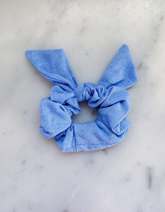 Chambray Scrunchie Ties