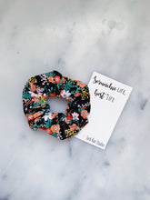 Load image into Gallery viewer, Julia Child Floral Scrunchie Ties