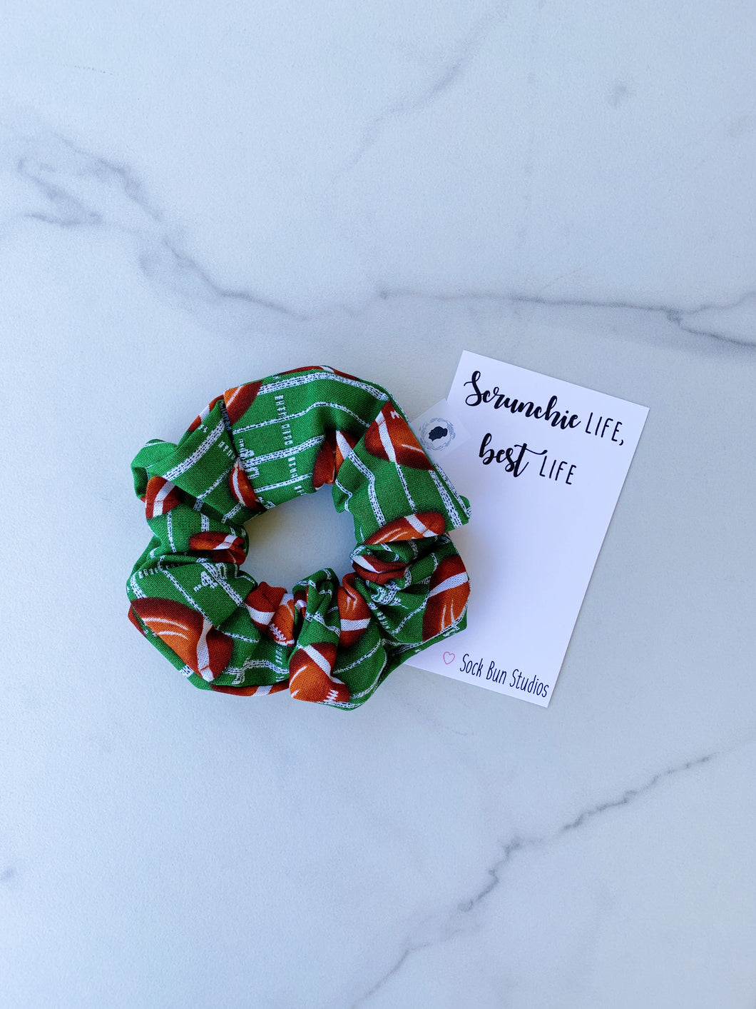 Football Scrunchie