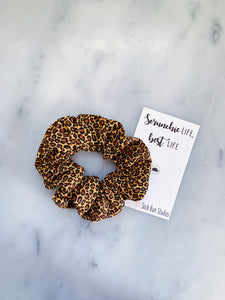 Mini Jaguar Print Scrunchie