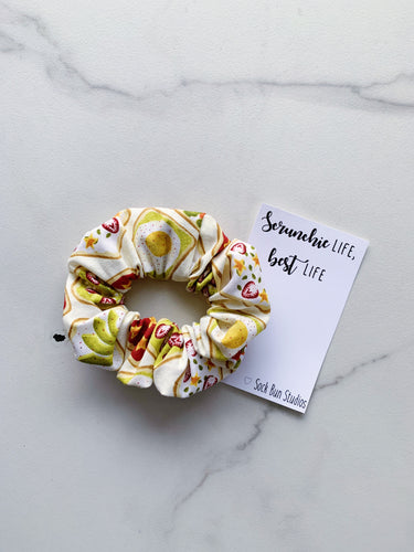 Avocado Toast Scrunchie