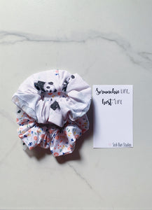 SALE WEEKLY DUO Spring Babies Floral Scrunchie Duo